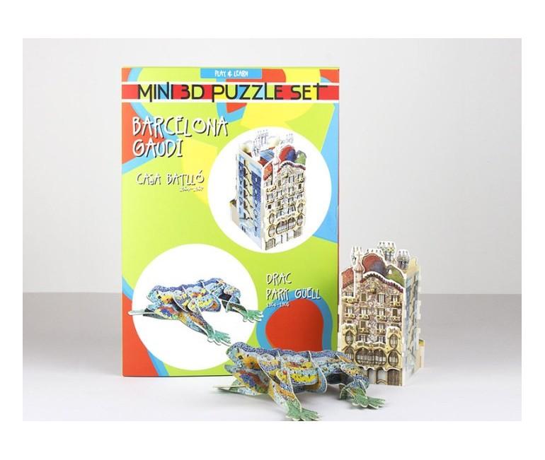 La Pedrera + Drac Mini Puzzle 3D