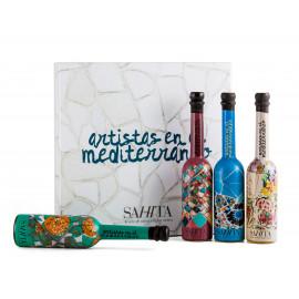 Conjunto Huiles d'Olive Vierge Extra Trencadís Artists 100 ml