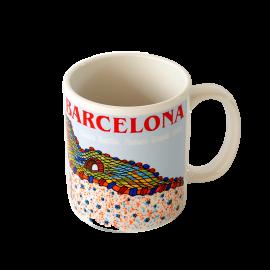 Gaudi Casa Batllo Ceramic Mug