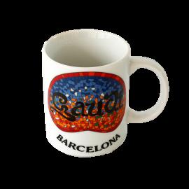 Tasse en céramique Gaudí Barcelona