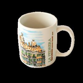 Gaudi La Pedrera Ceramic Mug