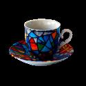 Set 6 tasses de cafè espresso Sagrada Familia