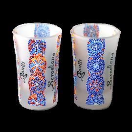 Gaudi printed blades small shots in a box