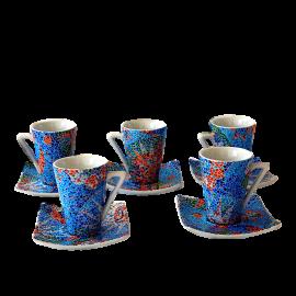 Set 6 tasses de cafè espresso Dong Soles