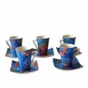 Set 6 Espresso Coffee Cups Dong Soles