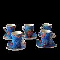 Set de 6 tasses à café espresso Dong Soles