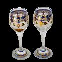 Ensemble de deux verres de liqueur Gaudí