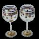 Burgundy Wine Cups