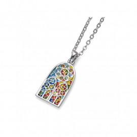 Pendentif Sagrada Familia Multicolor