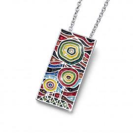 Pendentif Gaudi Art Multicolor