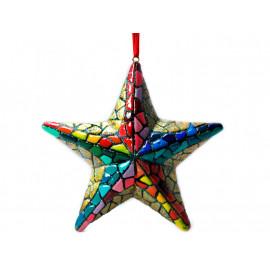 Bola de Navidad Estrella Gaudí