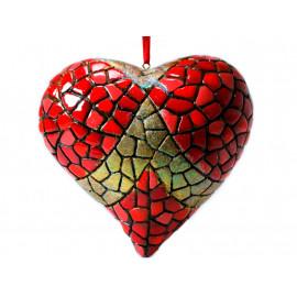 Bola de Navidad Corazón Gaudí