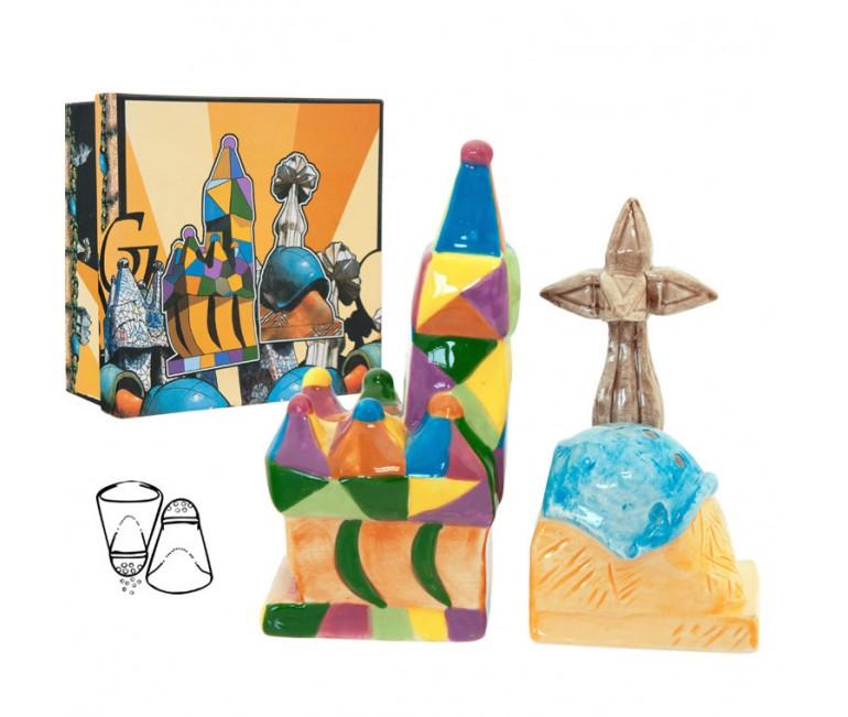 Set Salt and Pepper Gaudi Multicolor