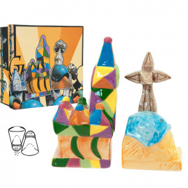Set salt i pebre Gaudi Multicolor