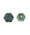 Blue Gaudi Tile Magnet