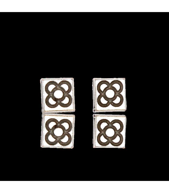 Barcelona Modernisme Tile Earrings