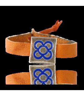 Bracelet Émaillé Flor de Barcelona