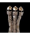 Broche cheminées de La Pedrera Gaudí