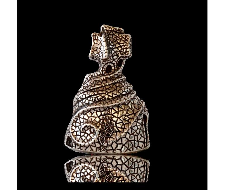Gaudi Chimney La Pedrera Brooch