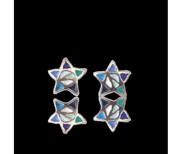 Gaudi Star Earrings