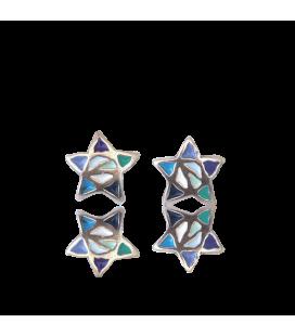 Boucles d'oreilles étoiles Gaudí
