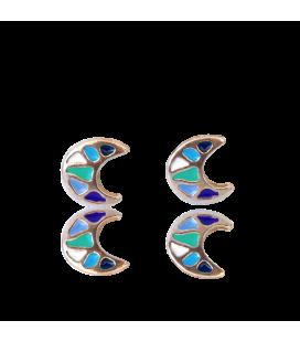 Pendientes Luna Gaudí