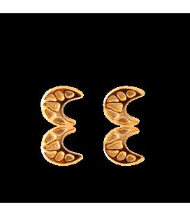 Boucles d'oreilles lune Gaudí