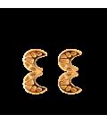 Gaudi Golden Moon Earrings