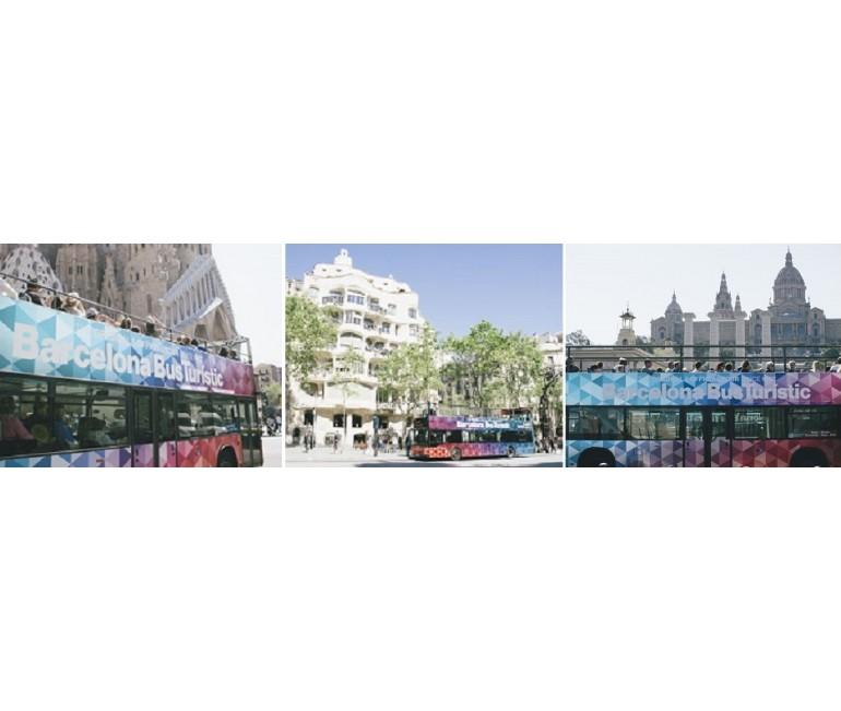 Hop On Hop Off Barcelona Bus Turistic