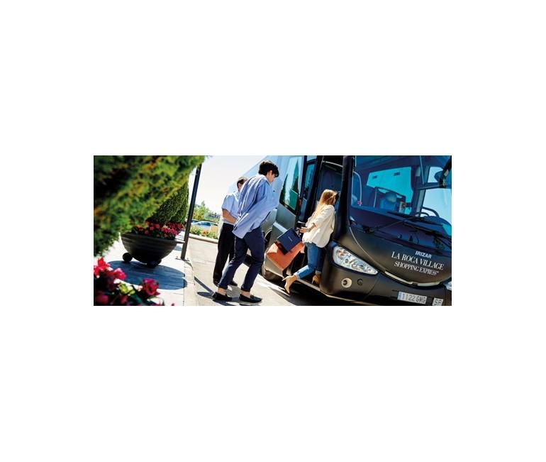 Bus to La Roca Village – the best shopping trip