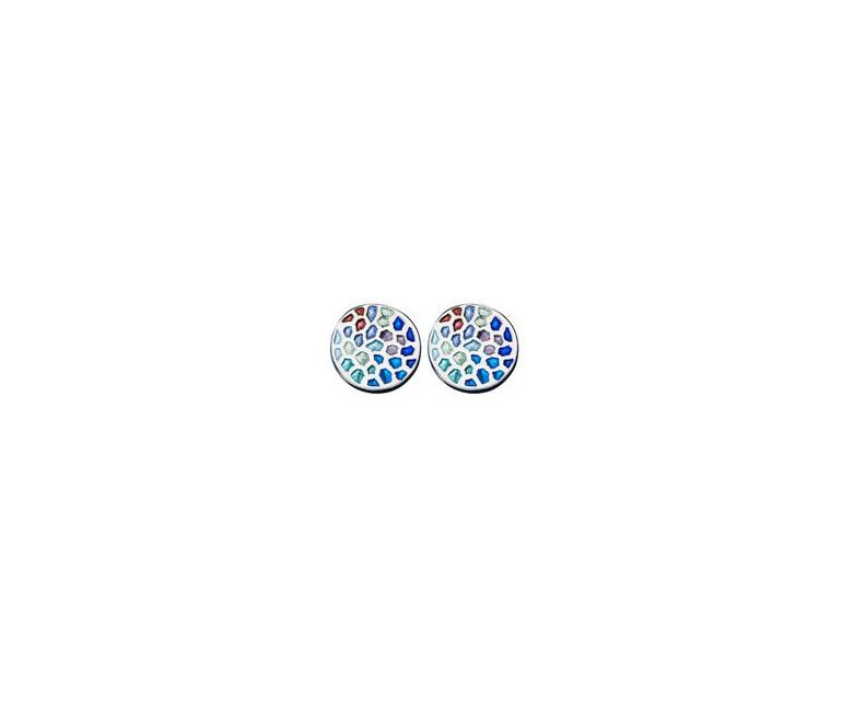 Gaudí Silver Earrings Barcelona
