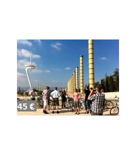 E-bike visite panoramique de Barcelone : entre la montagne et la Mer