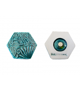 Gaudi Hexagonal Tile Magnet