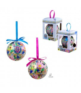 Christmas Ball Gaudi Mosaic