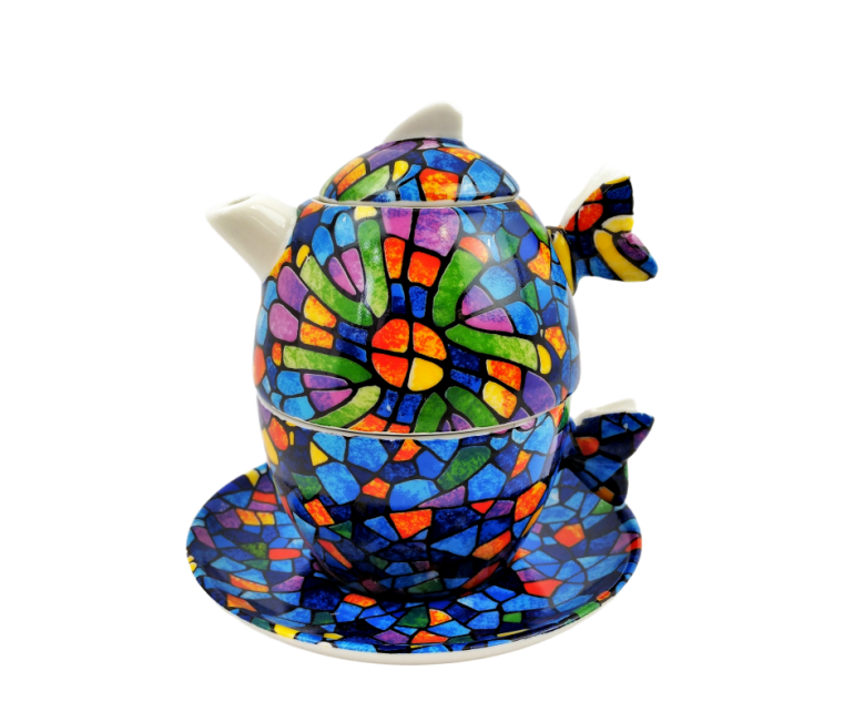 Set de té Gaudi Vitral