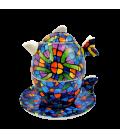 Théière / tasse Gaudi Vitral