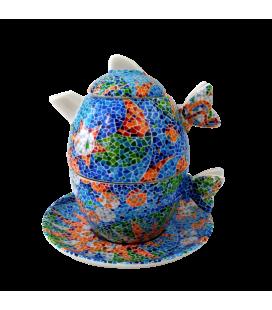 Théière / tasse Gaudi Soles