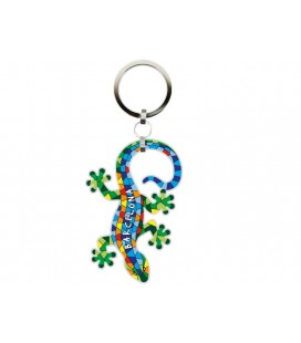Gaudi Lizard Key Ring