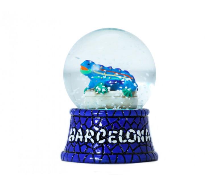 Bola de nieve de Cristal Drac 4,5 cm
