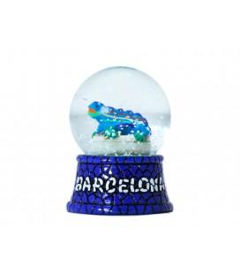 Bola de nieve de Cristal Drac
