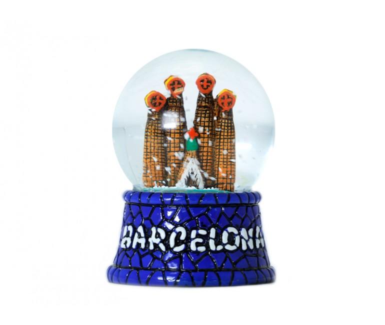 Bola de nieve de cristal Sagrada Familia