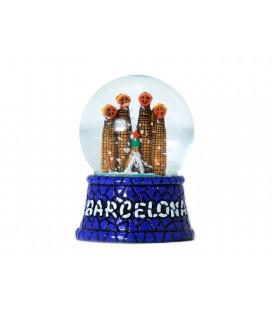 Boule de neige de cristal Sagrada Familia