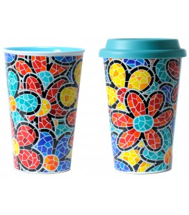 Thermal Ceramic Mug Spring Gaudi