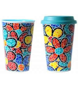 Thermal Ceramic Mug Spring Gaudi