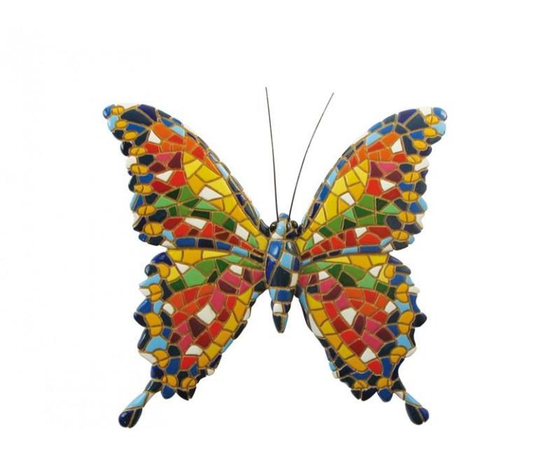 Trencadis Butterfly Figurine