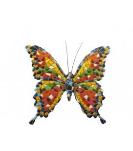 Figurine papillon trencadís