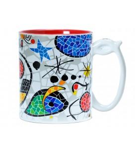 Tassa ceràmica Inspiració Miró