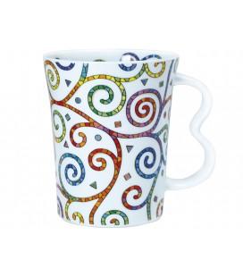 Ceramic Mug Spirals Gaudi
