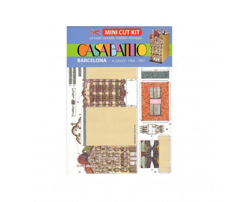 Mini Kit Recortable Casa Batlló