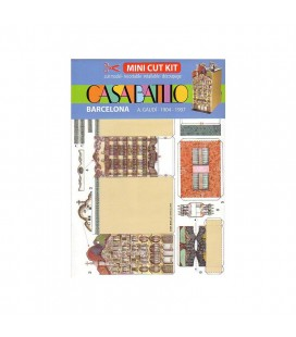 Mini Kit papier Casa Batlló